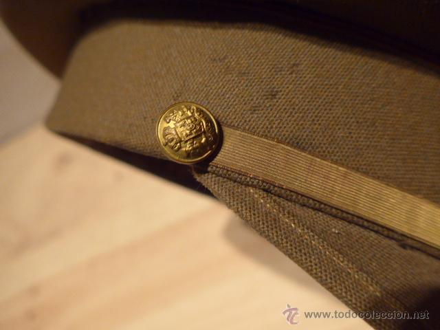 Militaria: Antigua gorra de plato original de coronel infanteria, epoca Alfonso XIII - Republica y guerra civil - Foto 3 - 53981218