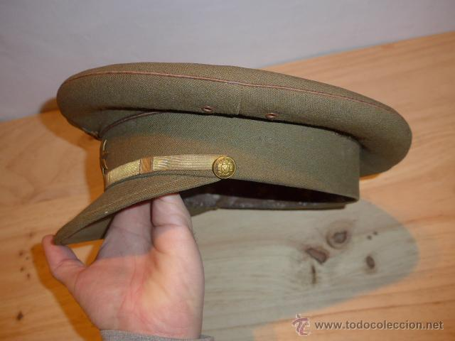 Militaria: Antigua gorra de plato original de coronel infanteria, epoca Alfonso XIII - Republica y guerra civil - Foto 9 - 53981218