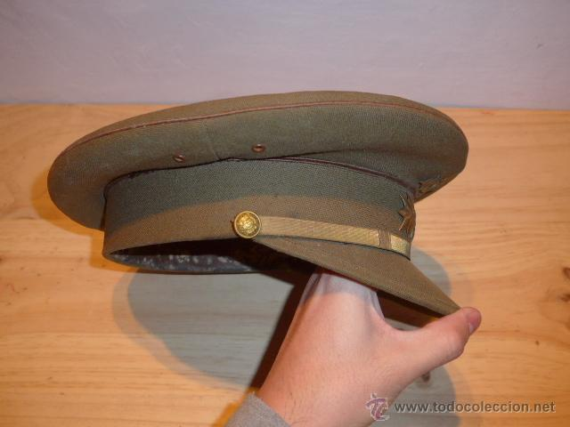Militaria: Antigua gorra de plato original de coronel infanteria, epoca Alfonso XIII - Republica y guerra civil - Foto 10 - 53981218