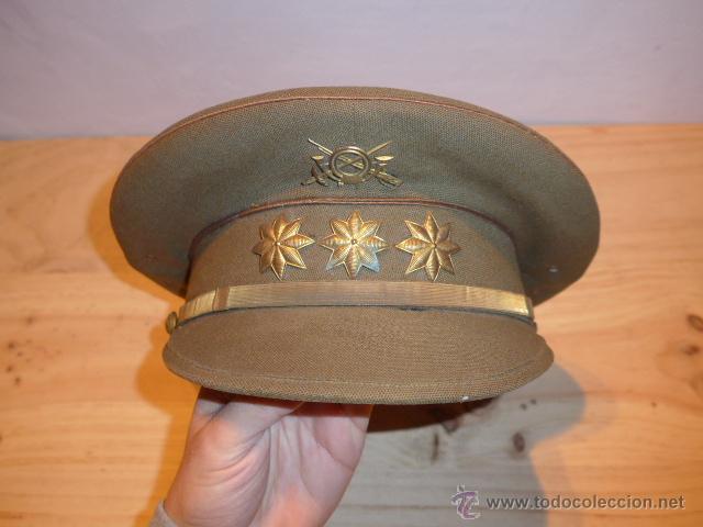 Militaria: Antigua gorra de plato original de coronel infanteria, epoca Alfonso XIII - Republica y guerra civil - Foto 11 - 53981218