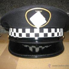 Militaria: GORRA POLICIA MUNICIPAL TALLA 59,5, DE VERANO. Lote 101189616