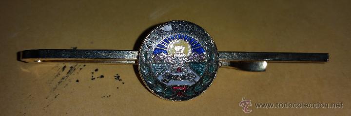 PASADOR DE CORBATA,PISACORBATA DE INGENIEROS (Militar - Otros relacionados con uniformes )