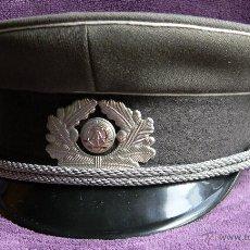 Militaria: DDR- NVA - REPÚBLICA ALEMANA DEMOCRÁTICA - GORRA DE PLATO - ORIGINAL - GUERRA FRIA. Lote 54299462