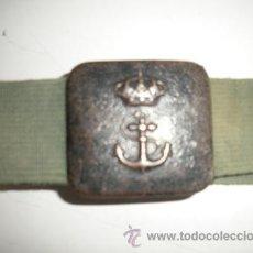 Militaria: CINTURON - INFANTERIA DE MARINA -. Lote 54302594