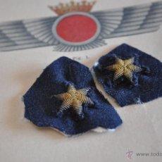 Militaria: AVIACION, DOS ESTRELLAS BORDADAS.. Lote 54311515