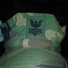 Militaria: USN. US NAVY. ANTIGUA GORRA WOODLAND. Lote 54509847