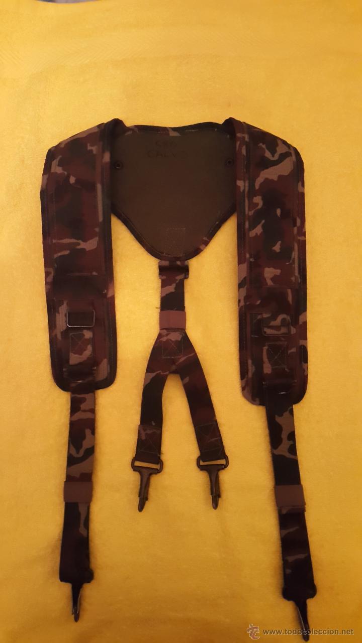 TRINCHAS EJERCITO ESPAÑOL CAMUFLAJE BOSCOSO (Militar - Cinturones y Hebillas )