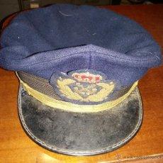 Militaria: GORRA DE PLATO MARINA. Lote 54659230