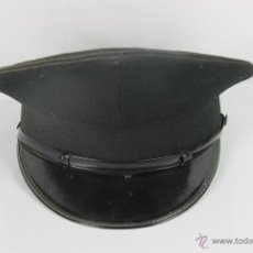 Militaria: GORRA DE CONSERJE O CHOFER EN TELA CON VISERA EN CHAROL. HIJA DE SANCHEZ RUIZ. PRINC. S XX.. Lote 148184738