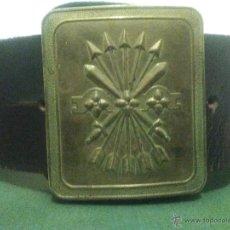 Militaria: ANTIGUO CINTURON DE LA GUARDIA DE FRANCO, FALANGE.. Lote 57694064