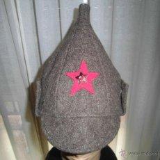 Militaria: GORRO RUSO BUDIKONOVA. ANTIGUA URSS.. Lote 55027839
