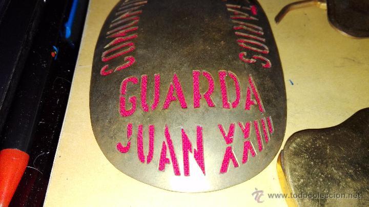 Militaria: PLACA DE GUARDA Y HEBILLA CON COMPLEMENTOS - Foto 2 - 55051851