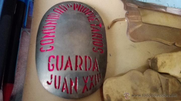 Militaria: PLACA DE GUARDA Y HEBILLA CON COMPLEMENTOS - Foto 3 - 55051851