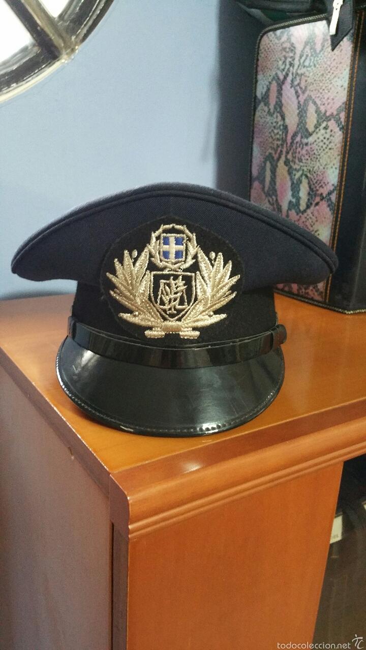 GORRA POLICIAL GRECIA (Militar - Boinas y Gorras )