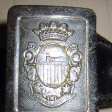 Militaria: ANTIGUO CINTURON POLICIA MUNICIPAL . LLUCMAJOR . MALLORCA.. Lote 55076221