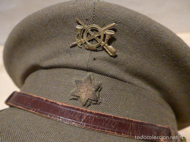 Militaria: Antigua gorra de alferez de infanteria, Republica y guerra civil, original - Foto 2 - 55244696