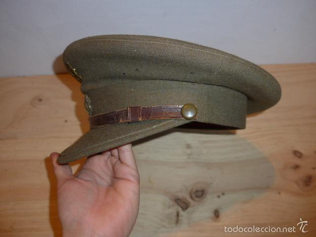Militaria: Antigua gorra de alferez de infanteria, Republica y guerra civil, original - Foto 3 - 55244696
