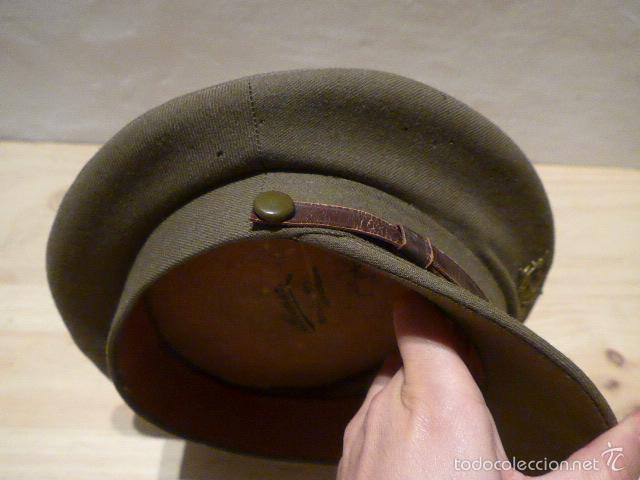 Militaria: Antigua gorra de alferez de infanteria, Republica y guerra civil, original - Foto 4 - 55244696