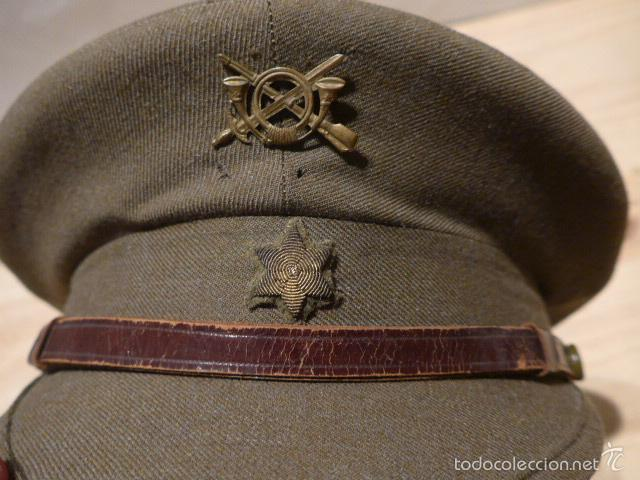 Militaria: Antigua gorra de alferez de infanteria, Republica y guerra civil, original - Foto 6 - 55244696