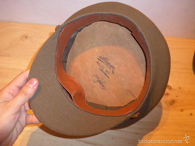 Militaria: Antigua gorra de alferez de infanteria, Republica y guerra civil, original - Foto 8 - 55244696