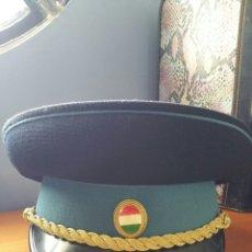 Militaria: GORRA POLICIAL HUNGRIA. Lote 55700280