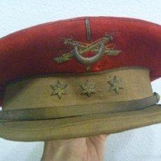 Militaria: IMPRESIONANTE GORRA DE PLATO DE CAPITAN DE REGULARES, EPOCA DEL CAUDILLO FRANCO. Lote 55783774