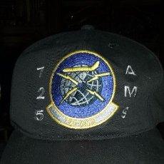 Militaria: USAF. US AIR FORCE. GORRA 725 AIR MOBILITY SQUADRON. Lote 55804849