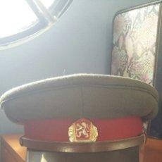 Militaria: GORRA POLICIAL CHECOSLOVAQUIA. Lote 55944311