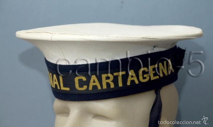 1 LEPANTO ARMADA ESPAÑOLA - ARSENAL CARTAGENA -MARINA- AÑOS 70- (Militar - Boinas y Gorras )