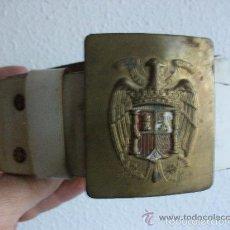 Militaria: CEÑIDOR DE GALA NACIONAL POLICIA MILITAR ANTIGUO. EPOCA DEL GENERALISIMO FRANCO. Lote 56051634