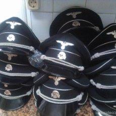 Militaria: GORRAS DE SS A CASCOPORRO ¡¡¡ TALLAS 55-56 Y 59-60 BARATAS Y CALIDAD SUPREMA ,VENGA QUE SE ACABAN ¡. Lote 195161031