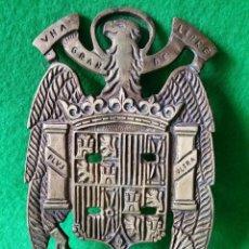 Militaria: PORTA BAQUETAS ESCUDO DE FRANCO. Lote 56286090