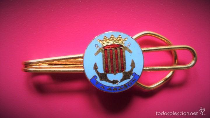 PASADOR DE CORBATA MILITAR T.A ARAGON MARINA ESPAÑOLA. (Militar - Otros relacionados con uniformes )