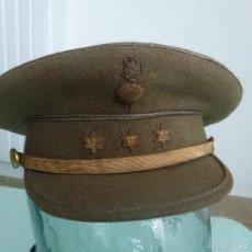 Militaria: GORRA PLATO CAPITAN ARTILLERIA NACIONAL..GUERRA CIVIL ...ORIGINAL.. Lote 56333647