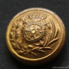 Militaria: BOTON VIGILANCIA ADUANERA 1908 1931 TAMAÑO 15 MM. Lote 56370470