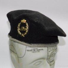 Militaria: BOINA DEL EJERCITO ESPAÑOL,CABALLERIA,CARROS DE COMBATE, TANQUISTA,ESCUDO CON TANQUE Y CORONA REAL, . Lote 56610440