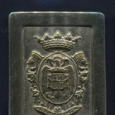 Militaria: HEBILLA DE POLICÍA MUNICIPAL. ÉPOCA DE FRANCO.. Lote 56699504