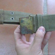 Militaria: ANTIGUO CINTURON Y HEBILLA ORIGINAL DEL VIETNAM COMUNISTA, DE LA GUERRA. Lote 56728678