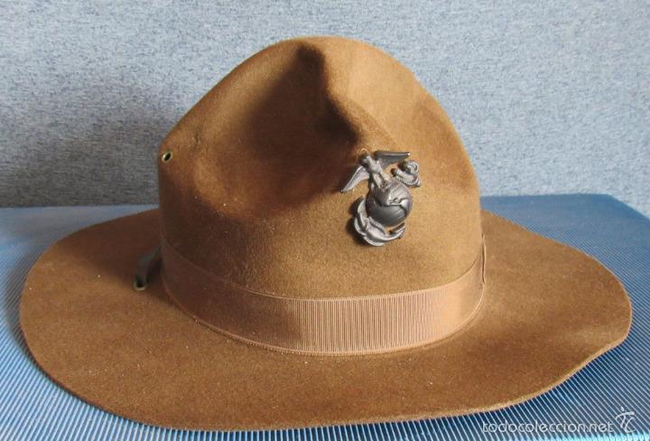 de2f845a564a5 Sombrero sargento instructor marines americano