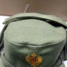 Militaria: GORRA DE MONTAÑA CON OREJERAS TALLA 55. Lote 56965834