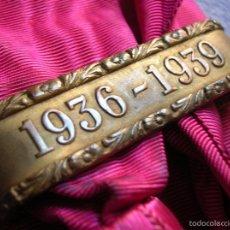 Militaria: EXCEPCIONAL BANDA DE LA VICTORIA. 1936-1939. MARCAJES DE FABRICACIÓN CASA CASTELLS.DIVISION AZUL. Lote 56985875