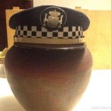 Militaria: GORRA PLATO POLICÍA MUNICIPAL. Lote 57444576