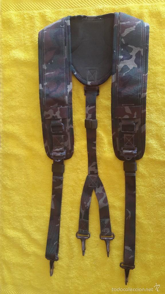 TRINCHAS EJERCITO ESPAÑOL - CAMUFLAJE BOSCOSO (Militar - Cinturones y Hebillas )