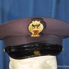Militaria: ITALIA. GORRA DE PLATO DE LA POLICÍA NACIONAL. TALLA 57.. Lote 57724682