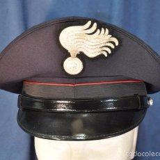 Militaria: ITALIA. GORRA DE PLATO DE LOS CARABINIERI. TALLA 59.. Lote 57724740
