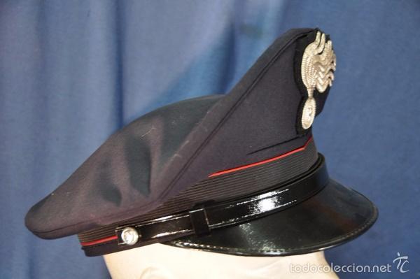 Militaria: Italia. Gorra de plato de los Carabinieri. Talla 59. - Foto 2 - 57724740