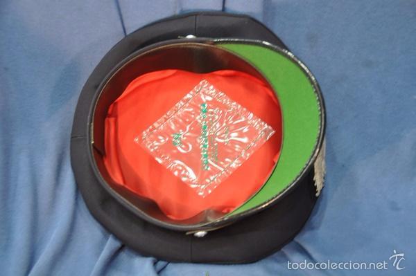 Militaria: Italia. Gorra de plato de los Carabinieri. Talla 59. - Foto 3 - 57724740