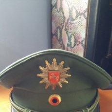 Militaria: GORRA POLICIAL ALEMANIA. Lote 57744156