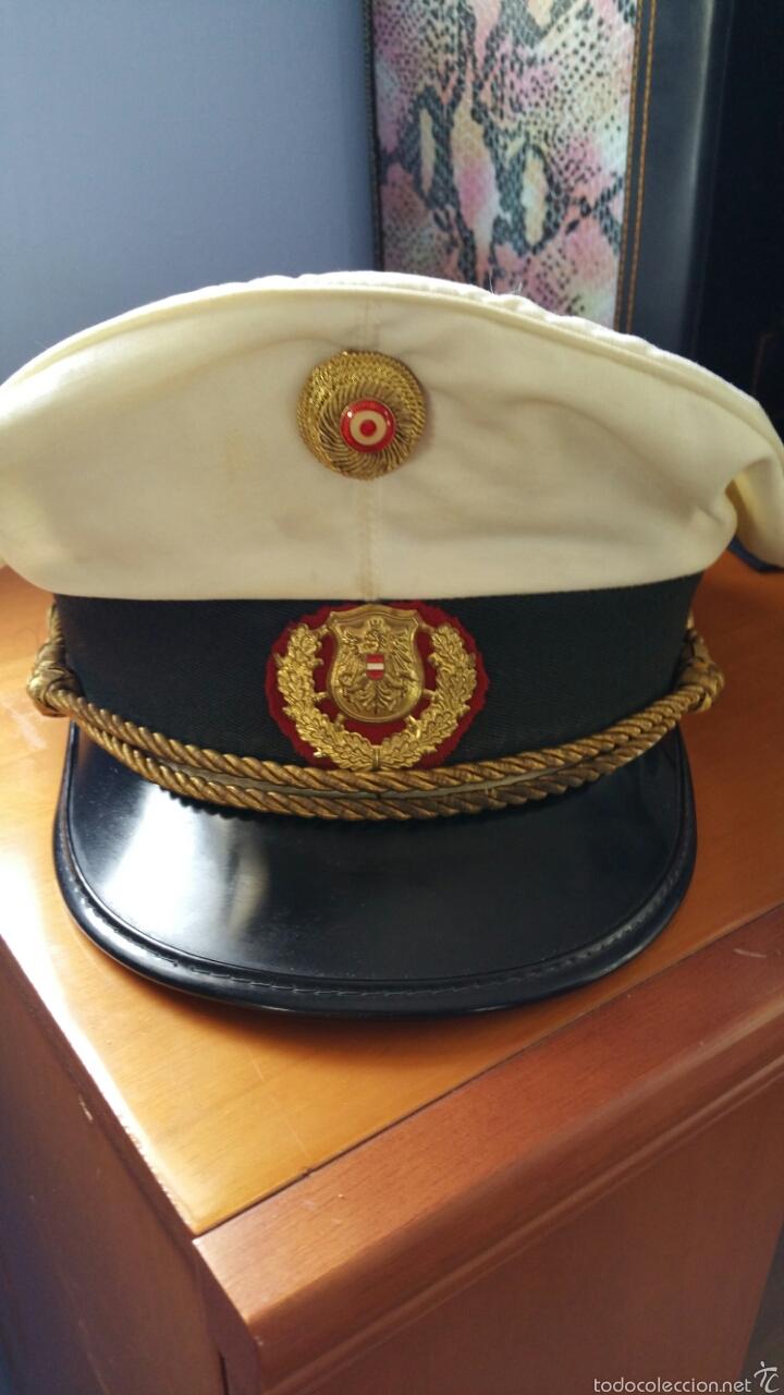 GORRA POLICIAL AUSTRIA (Militar - Boinas y Gorras )