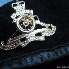 Militaria: ANTIGUA BOINA BRITANICA DE ARTILLERIA.. Lote 58086509